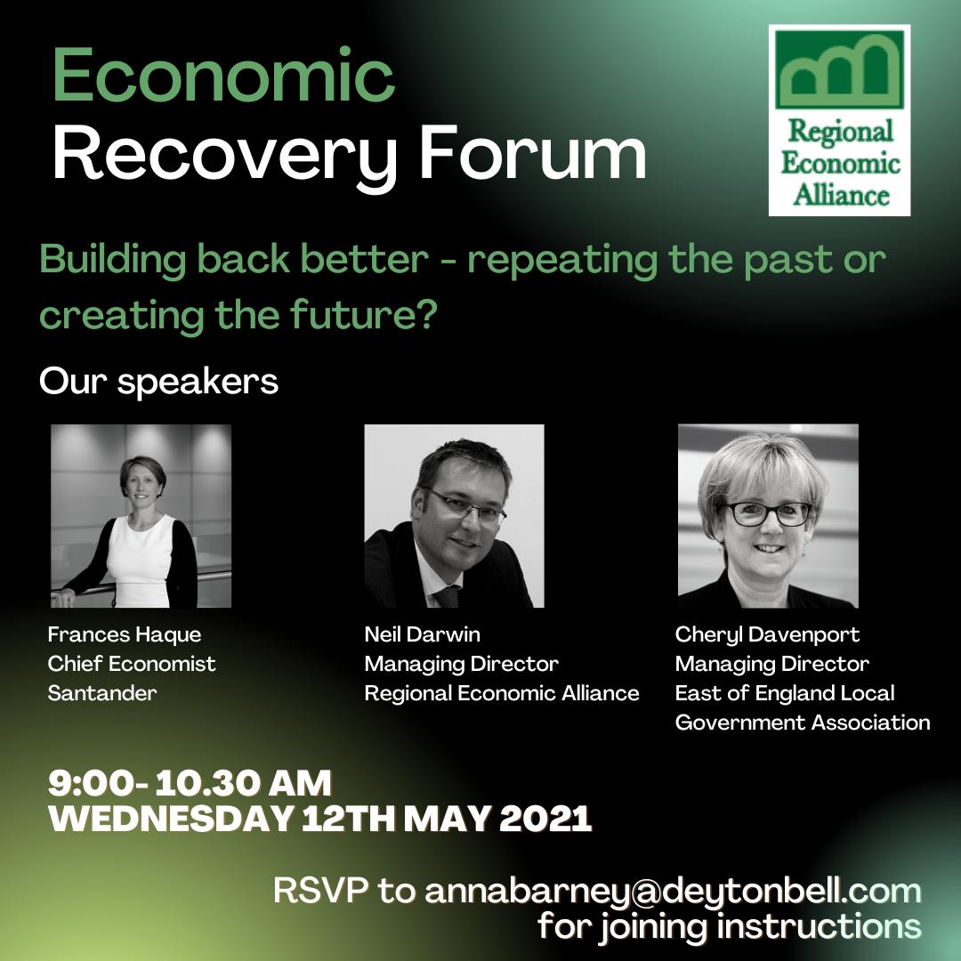 Economic Recovery Forum